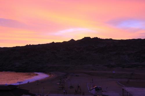 Beim Hotel Puerto Inca