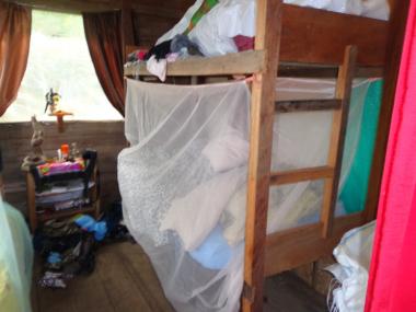 Unser erstes, winziges Zimmer