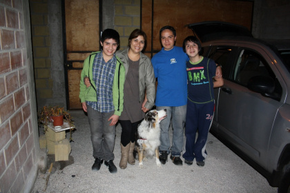 Andres und Familie