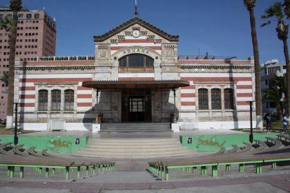 Einst Zollhaus, heute Casa de la Cultura