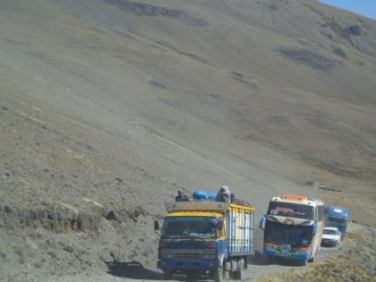 Fahrt nach La Paz