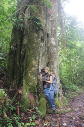 Auf dem Weg zur Madre Selva Jungle Lodge