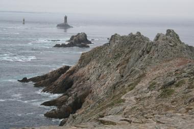Die westlichsten Felsen von Frankreich