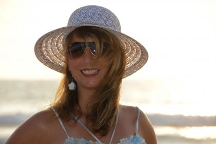 Gabi mit Hut