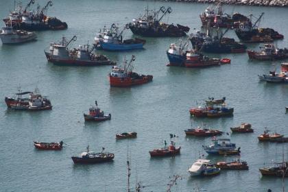 Hafen von Arica