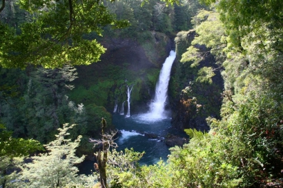 Huilo Huilo - Wasserfall