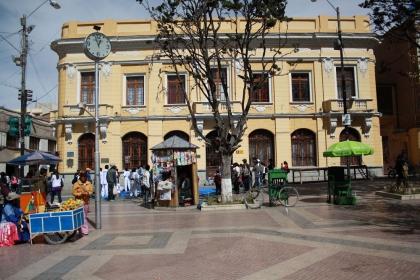 Stadtzentrum von Oruro