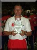 Toni Zürcher mit Pokal